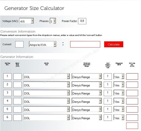 Wire size calculator android apps on google play video size redstar s new generator sizing calculator redstar equipment video size calculator keyboard keysfo Gallery