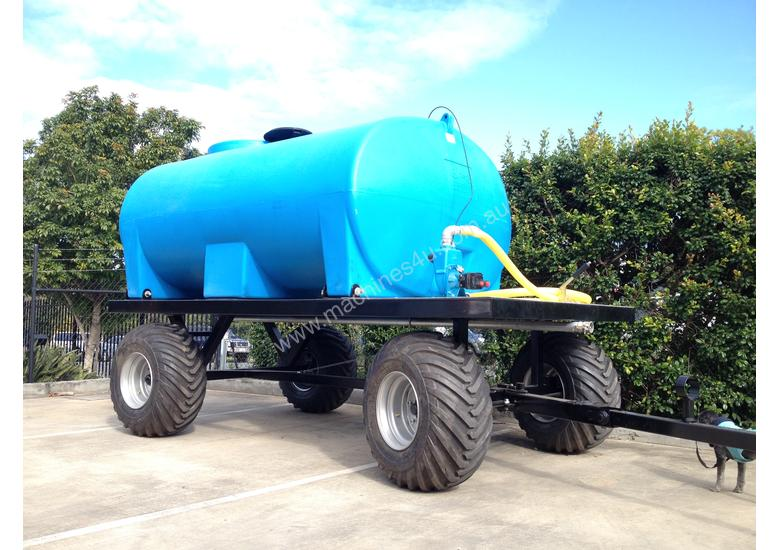Poly Tank Trailer : New ez machinery wc water trailer in deception bay