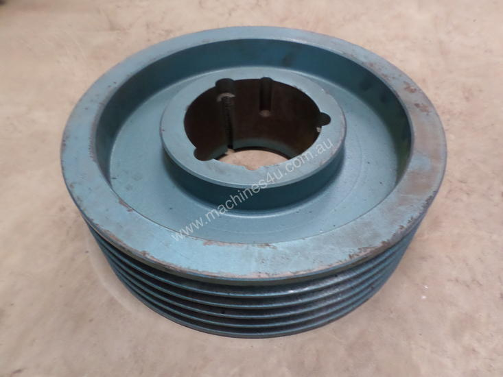 Cast Iron Pulleys For Sale : Used belt cast iron pulley pulleys in melbourne vic