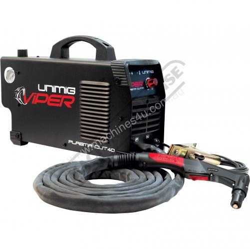 New Unimig Vipercut 40 Single Phase Plasma Cutters In