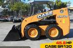 SR130 SKID STEER LOADER 45.8 HP only 5 Hrs #2128A