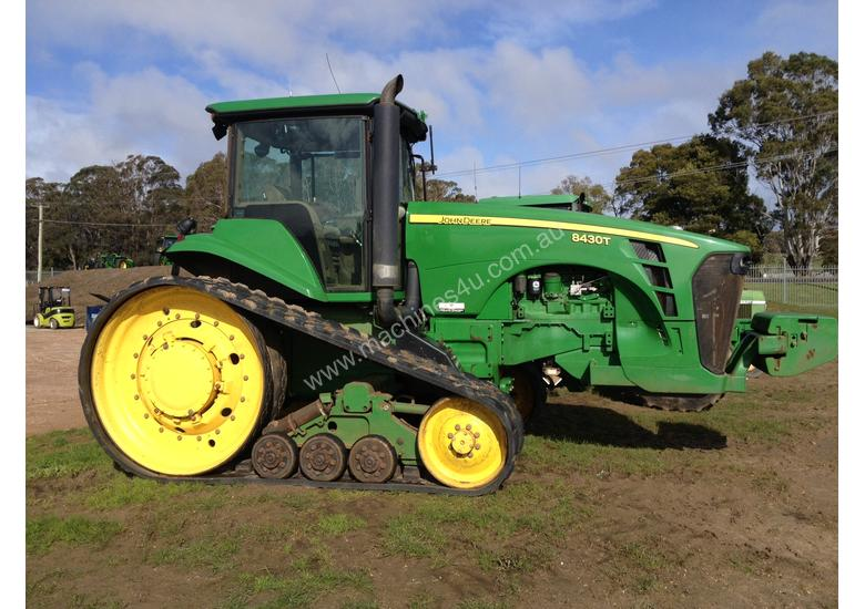 Tractor Front Track : Used john deere track tractor in longford tas
