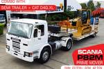 CAT D4G.XL Dozer + SCANIA P82M  with Semi Trailer