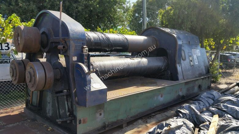 Used 1980 Davmar 10X1 Plate Rolls in Welshpool / Perth, WA Price: $ ...