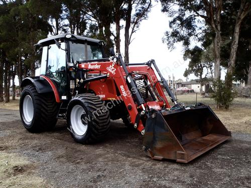 how to use a front end loader tractor