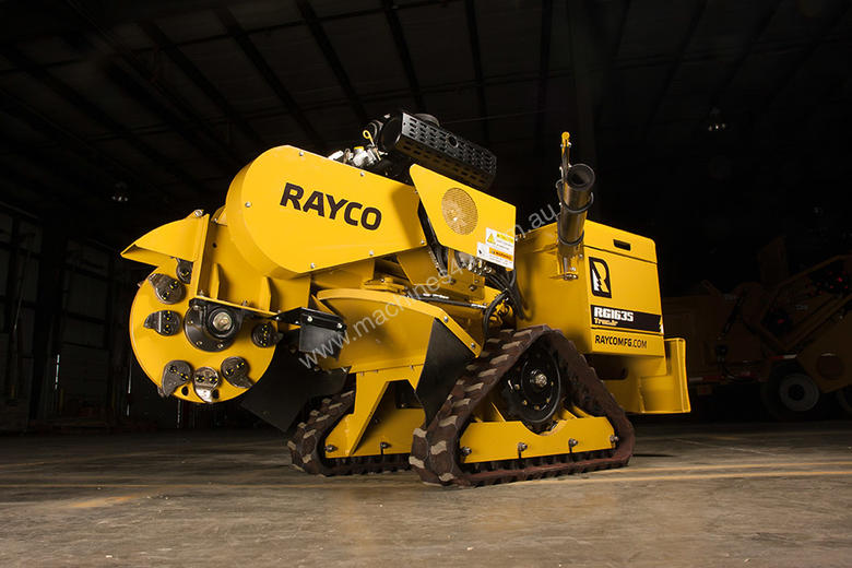 New 2016 Rayco Rg 1635 Self Propelled Stump Cutter In