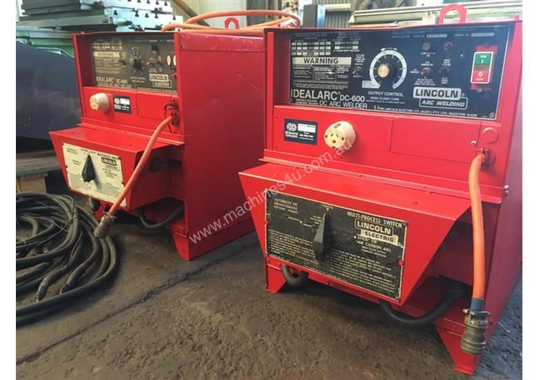 used lincoln dc600 three phase stick welders in boolaroo nsw price 8 500. Black Bedroom Furniture Sets. Home Design Ideas